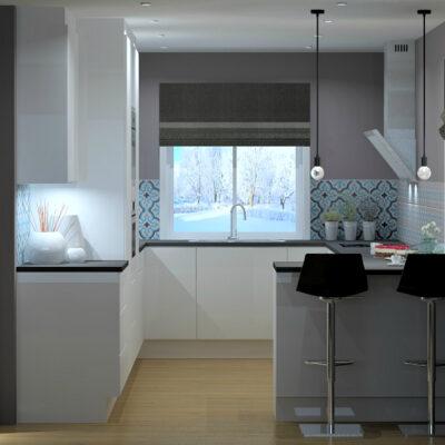 Kjøkkenfornyelse ga praktisk kjøkken