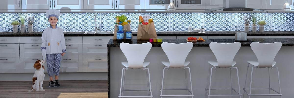 Interiørkonsulenthjelp til kjøkken, vaskerom, hus eller hytte