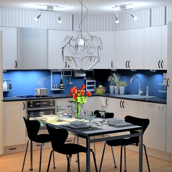 Kjøkkenfornyelse gir nytt liv til kjøkkenet
