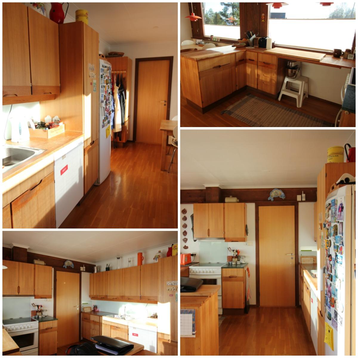 Bilder kjøkkenet før oppussing