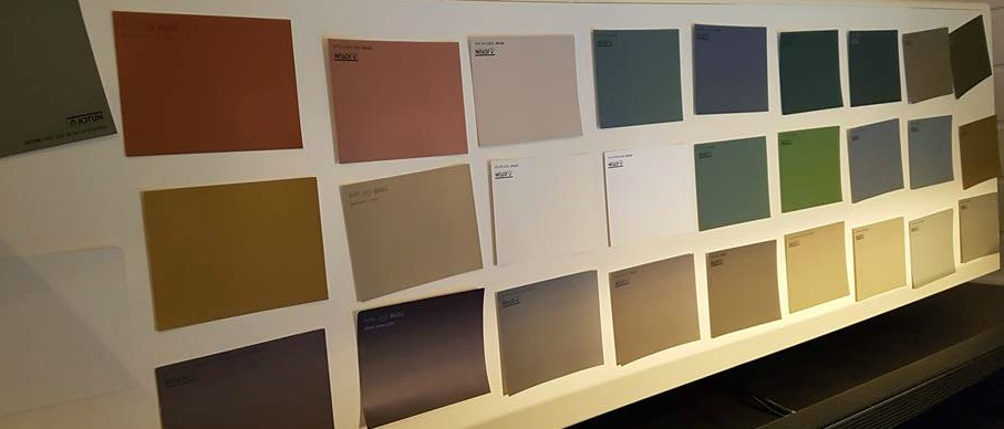 alle aktuelle farger for rommet
