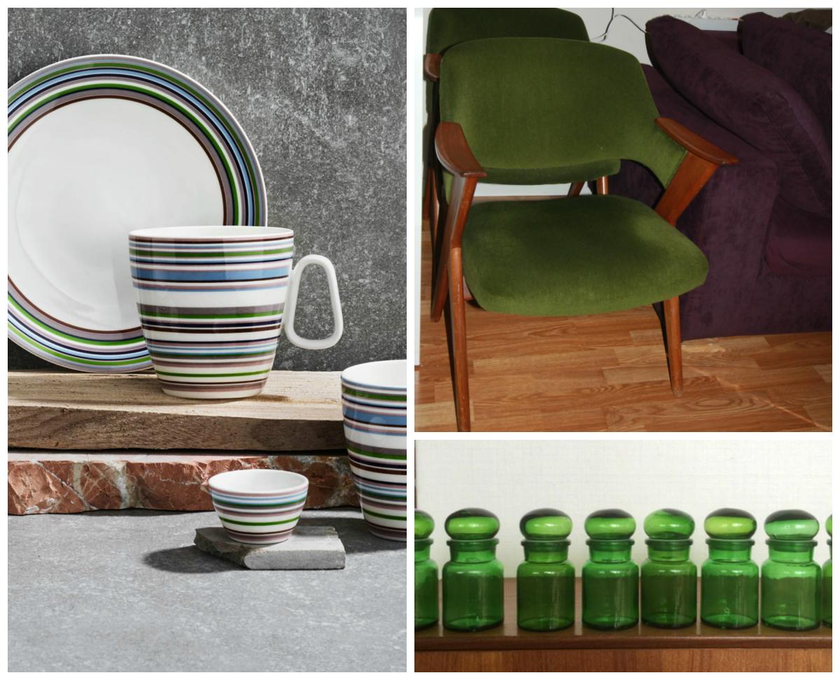 Fargeforslaget tar utgangspunkt i grønn stol