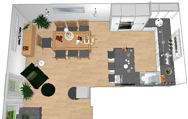 Alt A kjøkken forslag kjøkken