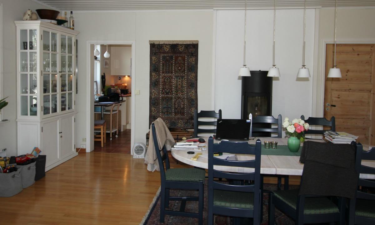 Burde veggen fjernes mellom kjøkken og stue