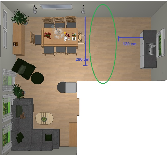 plassbehov for spisebord plassbehov spisebord plassbehov