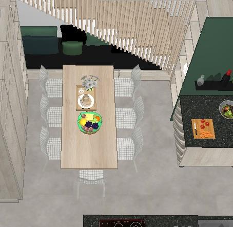 Hvordan utnytte plassen under trappa til sittebenk