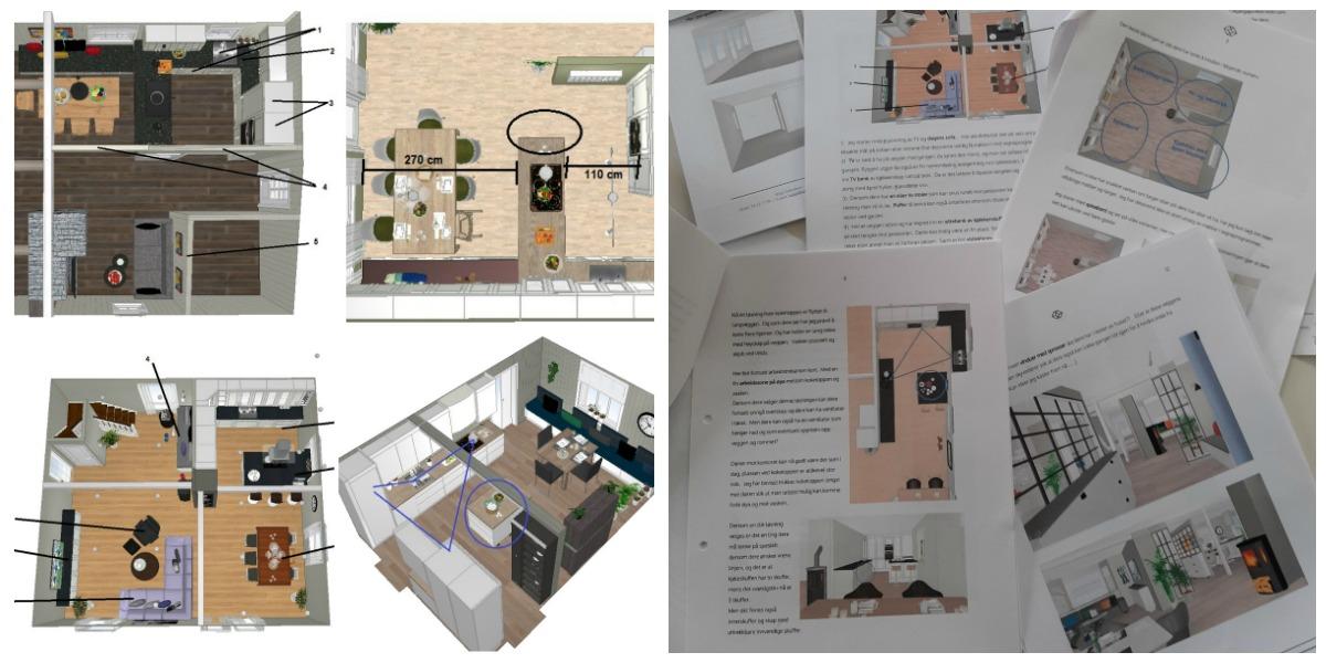 Hva får i et interiørkonsulent oppdrag, hjelp til planlegging av kjøkken
