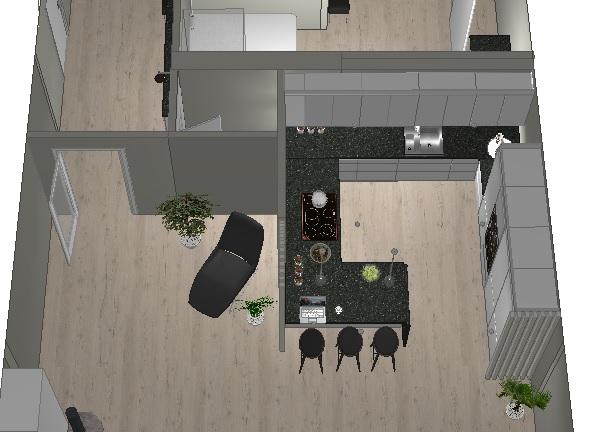 Plan for oppussing kjøkken i leilighet