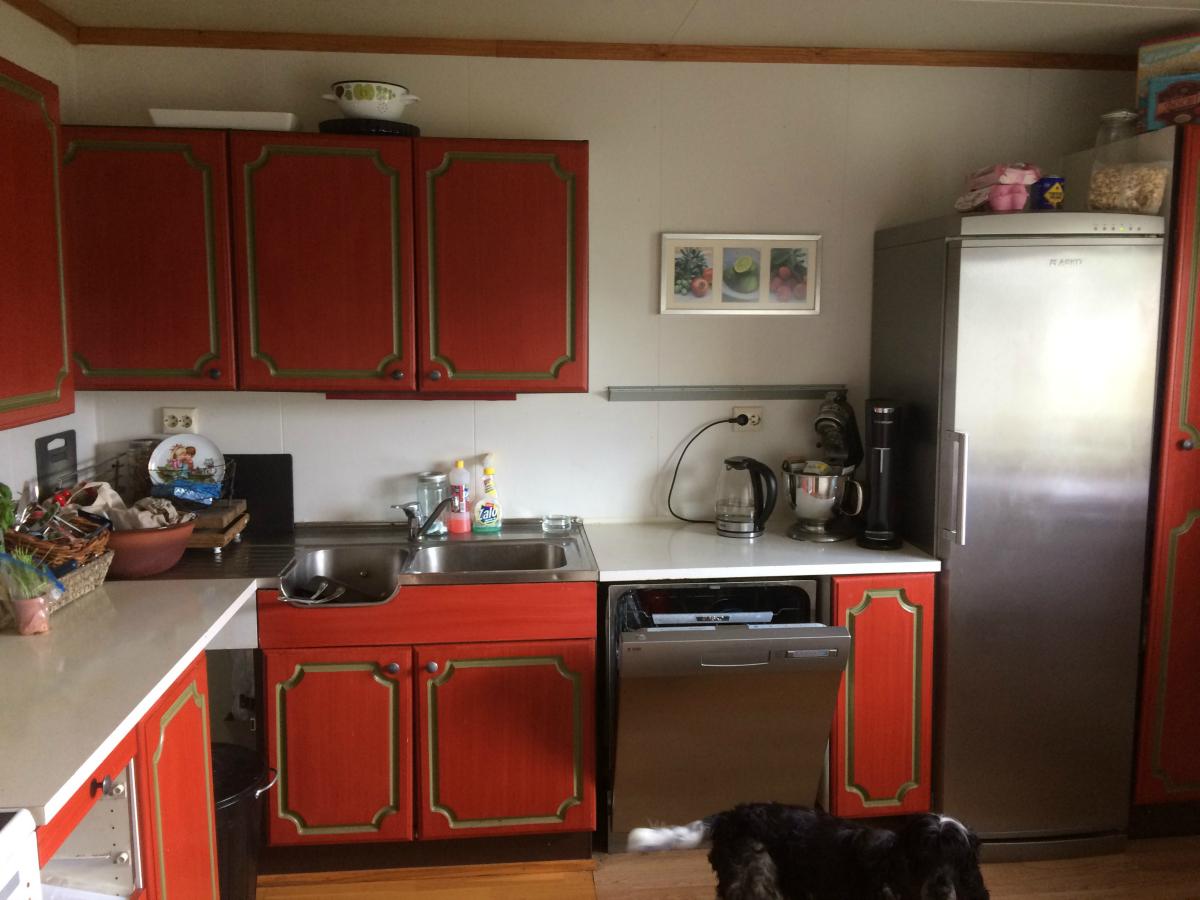 Kjøkken pusses opp