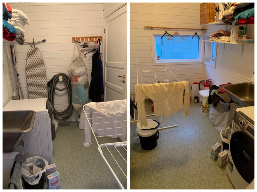 Bilde av vaskerommet før oppussing